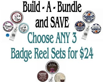 Sale Ends August 30, 2017 ~ Badge Reels ~ Build - A - Bundle and SAVE