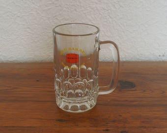 Vintage Watney's Red Barrel Glass Beer Mug