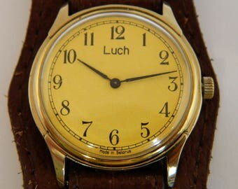 USSR Russian Soviet Wrist Watch LUCH #83
