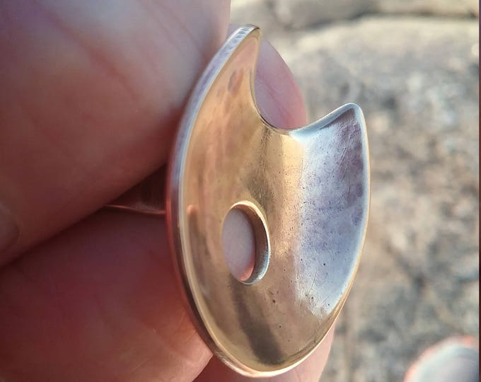 Bronze Falcon Ring fit for a King or Queen