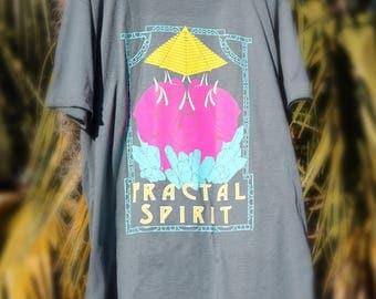 Crystal Elephant Mandala - Tee Shirt