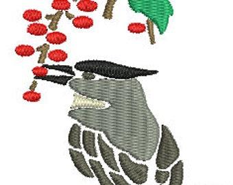 Bird 27 Digitized Machine Embroidery Design