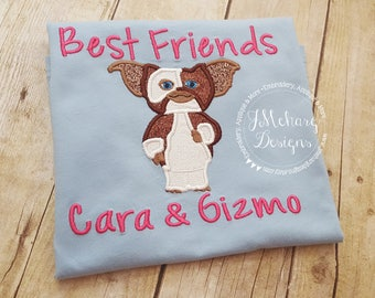 Gremlins Inspired Gizmo Birthday Mom Custom Tee Shirt - Customizable -  Infant to Adult 33b bffs
