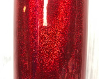 Red Holographic Glitter Adhesive Vinyl, 651 equivalent, oracal, vinyl, sticky vinyl, glitter adhesive vinyl, vinyl for crafts