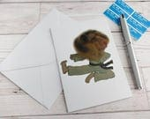 Karate Hamster Card Birthday Kung Fu Martial Arts Greetings Dress Up Humour Cute Pet Funny Animal