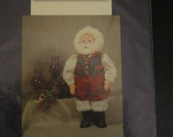 "Santa Claus 27"" Folk Doll Pattern"