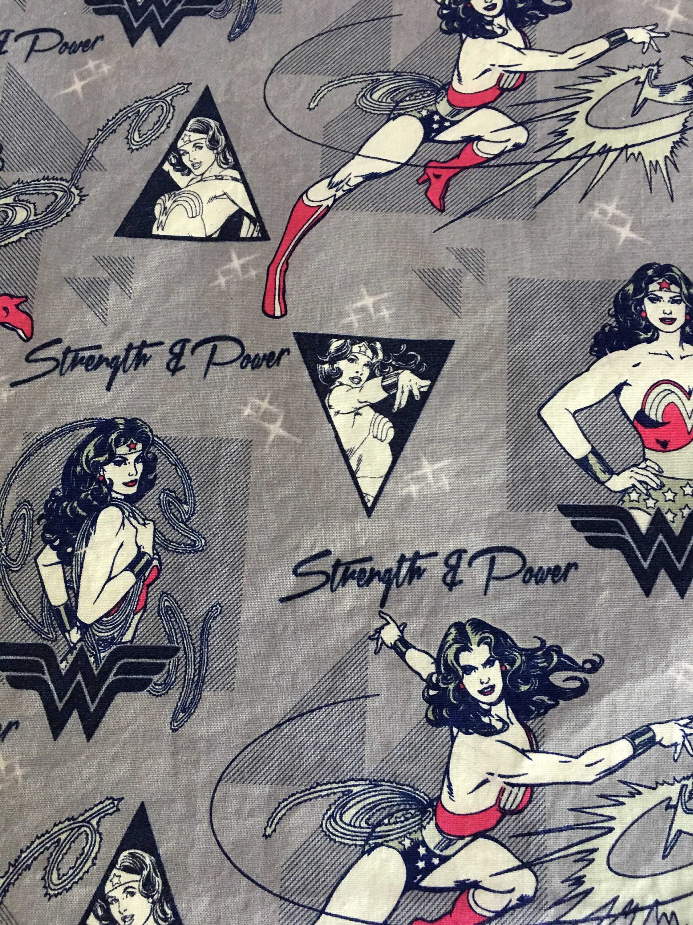 Wonder woman all cotton lunch box napkin 12x15 in size by for 12x15 calculator