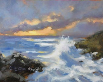 Twilight...Original Oil Painting by Maresa Lilley, SND