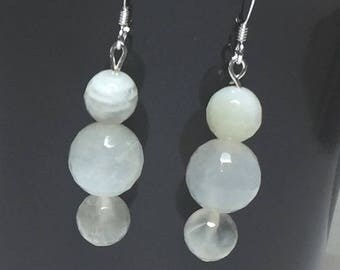 Moonstone Earrings - Unqiue Moonstone Earrings