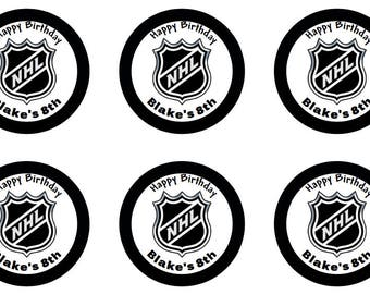 Avery 22807 etsy nhl hockey stickers personalized 2 inch circles cupcake toppers digital download printable labels 22807 avery pronofoot35fo Images