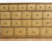 Pine Apothecary Multi Drawer Cabinet