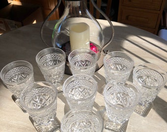 Imperial glass compony cape cod glasses