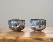 Shino Sake Cups - Set of Two