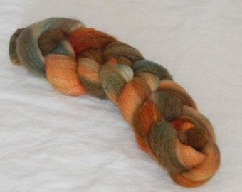 80/10/10 Targhee/Bamboo/Silk fiber, Non-Conformity , 1 ounce braids
