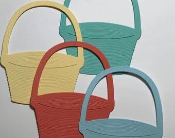 Basket Die Cuts Set 0f 10