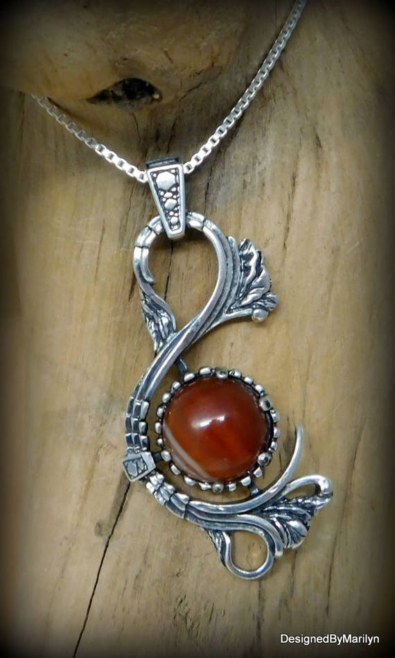 Sterling silver Victorian pendant, chakra jewelry, love stone, rose quarts necklace
