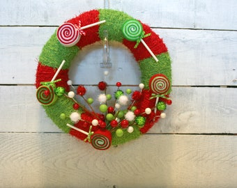 Christmas Wreath | Indoor Wreath |Holiday Wreath | Holiday Mantle