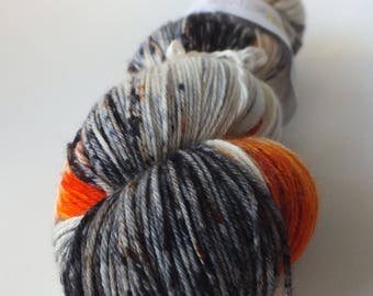 TO order - skein of Superwash Merino / Nylon - hand - dyed Fingering / Sock - color Mercy