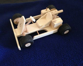 Go kart out of wood
