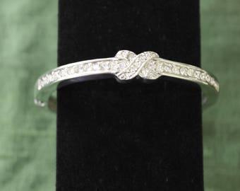 "Crystal ""X"" Bracelet"
