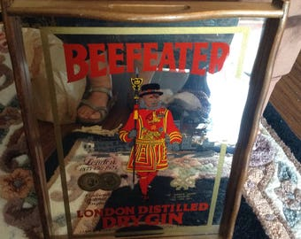 Beefeater gin mirrored tray