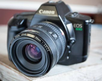 Working Vintage Canon EOS 630 35mm Film Camera with Zoom Lens
