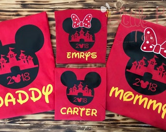 Mickey Mouse Family Shirts | Matching Disney Shirts | Disney Family Shirts | Disney World | Disneyland | Mickey Mouse | Minnie Mouse | Frien