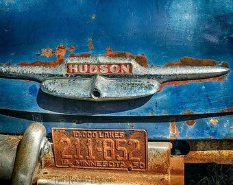 Rusty Hudson - 11 x 14 - Canvas Print - Photo Art Print - Wall Art