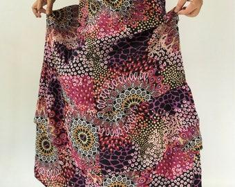 SK0005 Hand Decorate Maxi Skirt for Beach Summer