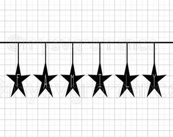 Primitive Star Family SVG