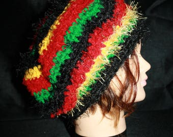 fancy beret, very warm, colorful 7