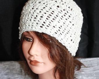 Hat fancy very light cotton