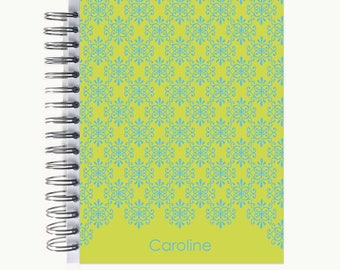 Bullet Journal – Personalized | Spiral | Dot Grid | Notebook | Flourish