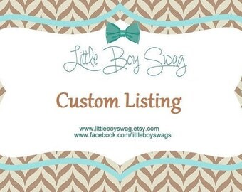 Custom listing for Ashley Ford