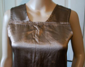 Vintage 1920's dress Brown