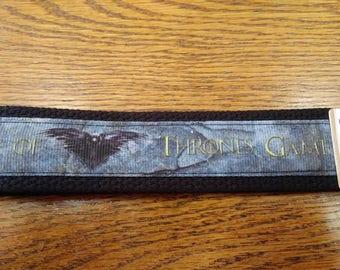 Raven/Game of Thrones Key Fob