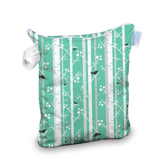 Thirsties Wet Bag in Aspen Print