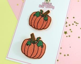 Halloween Hair Bow - Pumpkin Hair Clip - Halloween Hair Clip - Halloween Hair Accessories - Cinderella Pumpkin Hair Clip - Pumpkin Hair Bow