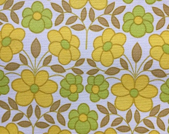 60s vintage swedish wallpaper with a lovely floral print. Mid century modern wallpaper retro wallpaper floral pattern scandinavian design