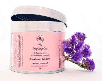 Healing Epsom Bath Salts | The Inspiring One | Essential Oils Bath Salts Soak | Spa Bath Salts | Luxury Salt soaks