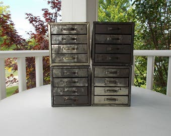 Vintage Metal Drawers at Ancient of Daze