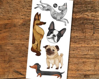 Temporary Tattoos - Dogs