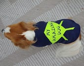 Seattle Dog Coat, Navy an...