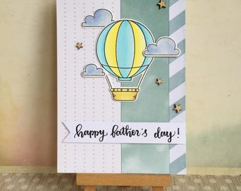 Handmade Layered Father's Day Card #1703 - Happy Father's Day