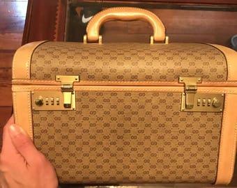Vintage Gucci Train Case Hard