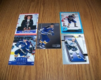 25 St. Louis Blues Hockey Cards