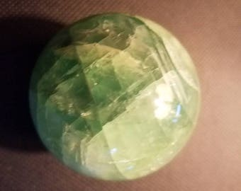 Gorgeous Fluorite Green Sphere