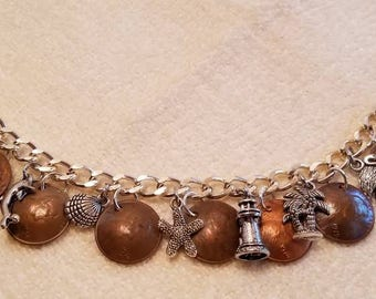 Copper Penny Story Bracelet
