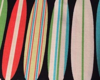 Surf Fabric Bundle Surfboard Habiscis Flower by Michael Miller Hawaiian 100% Quality Cotton 2 1/2 Yard Bundle