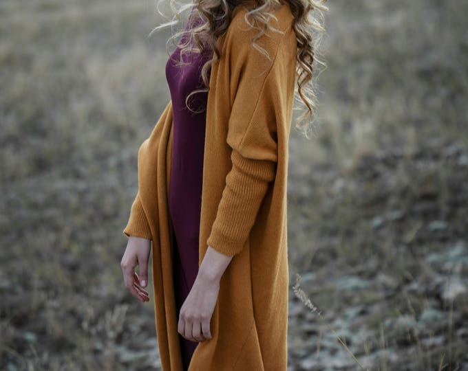 Oversized cardigan knit wool cardigan long cardigan for woman knit maxi coat alpaca sweater woman knit cardigan loose cardigan long cardigan